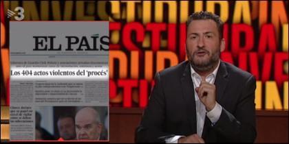 Toni Soler en TV3.