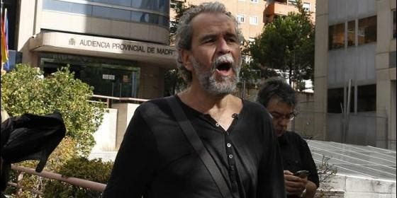 Willy Toledo, detenido en Madrid