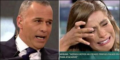 Carlos Lozano y Miriam Saavedra.