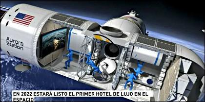 Estación Aurora: el primer hotel de lujo en el espacio.