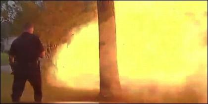 Explosión casa