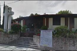 Iglesia donde fue asesinado el sacerdote