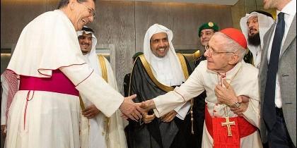El cardenal Tauran, sobre su reciente visita al país