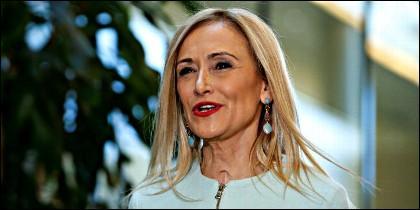 La presidenta de la Comunidad de Madrid, Cristina Cifuentes (PP).