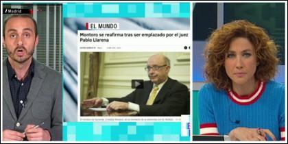 Albert Calatrava y Helena García Melero ensalzando a Montoro.