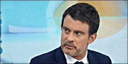 El ex primer ministro socialista francés Manuel Valls.