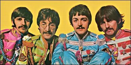 Los Beatles.