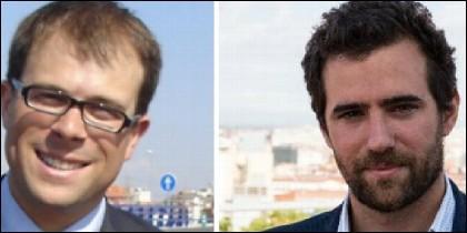 Daniel Viondi y Alberto Oliver.
