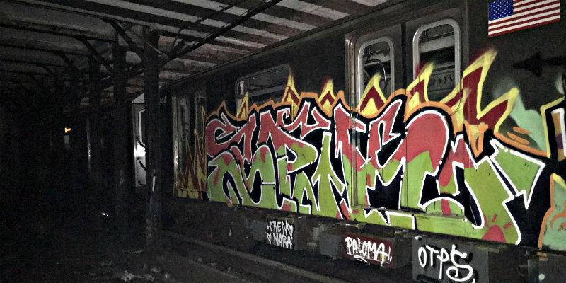 Tres españoles arrestados en Nueva York por pintar grafitis en el ...