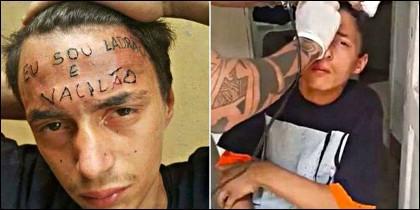 Tatúan al ratero en la frente su delito y el despectivo mote que le ponen.