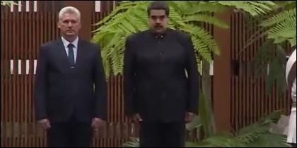 Maduro y Miguel Díaz-Canel
