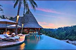 Hotel de lujo en Bali.