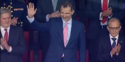 El rey Felipe VI y su polémica corbata