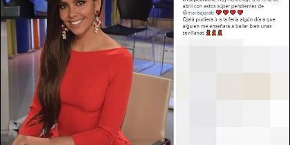 Instagram Cristina Pedroche Feria de Abril