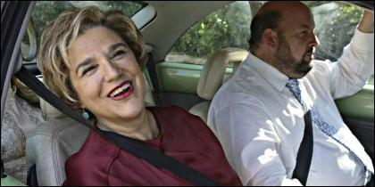 Pilar Rahola y su marido, Roberto Cerdán.