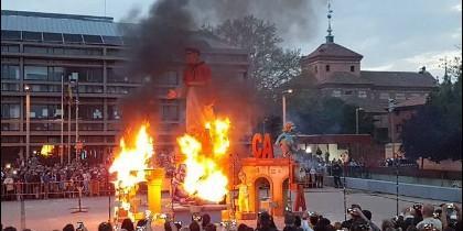 La quema en Alcalá de Henares