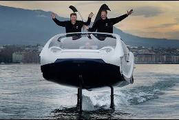 El taxi eléctrico y acuático