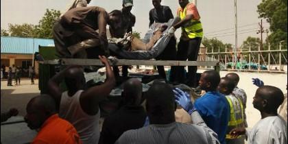 Ataque contra una iglesia católica de Ayar-Mbalom, Nigeria