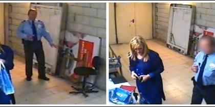 Cristina Cifuentes, pillada en un supermercado intentando no pagar dos productos cosméticos.