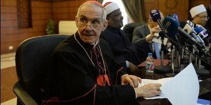 El cardenal Tauran