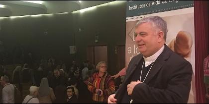 José R. Carballo, en la Semana de la Vida Religiosa
