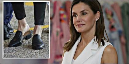 Los zapatos planos de la Reina Letizia.