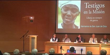 Presentación de 'Testigos de la misión. Liberia en tiempos de guerra'