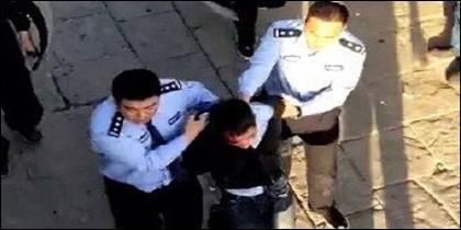 Atacante detenido