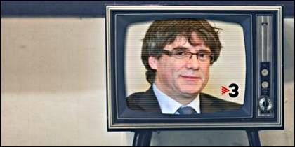 TV3 al servicio del independentismo en Cataluña.