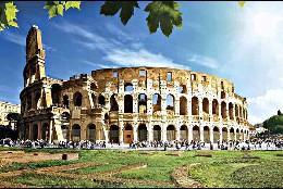 El Coliseo de Roma.