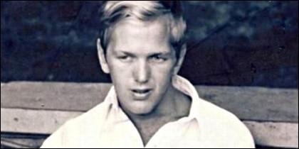 Peter Knoll en su juventud.