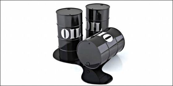 Crudo y barril de petróleo.