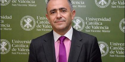 Fernando Giménez Barriocanal, en la UCV