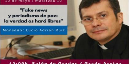 Charla de Monseñor Lucio Adrián Ruiz en la Universidad de Deusto