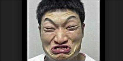 Un chino enfadado.