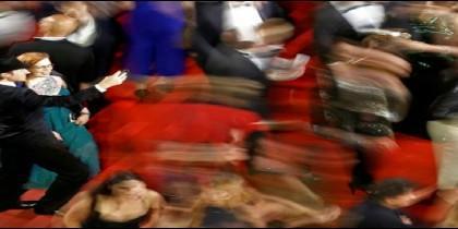 Celebridades en la alfombra roja de Cannes