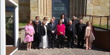 Doña Sofía inauguró 'Mons Dei'
