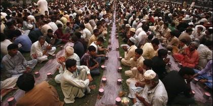 Los musulmanes españoles celebran Ramadán