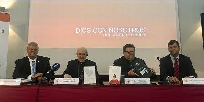 El cardenal Osoro apadrina la presentación del proyecto de Laude y la Fundación Edelvives