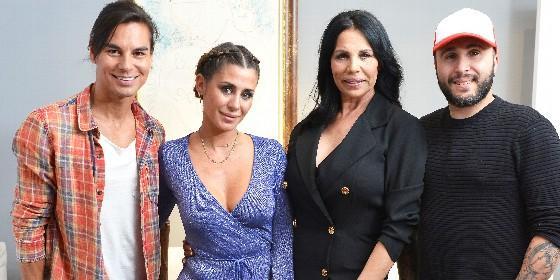 Elena Tablada, Kiko Rivera, Julio Iglesias Jr y Toñi Salazar, en `Ven a cenar conmigo: Gourmet edition`