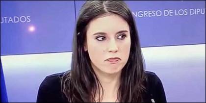 Irene Montero (PODEMOS).