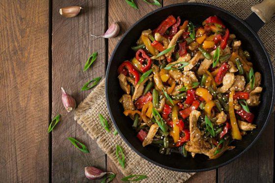 Receta de wok de pollo f cil periodista digital for Cocinar wok en casa