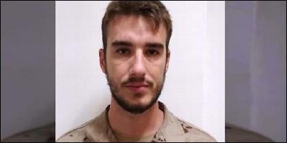 El soldado de Infantería de Marina Antonio Carrero Jiménez.