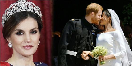 La Reina Letizia, Meghan Markle y el príncipe Harry