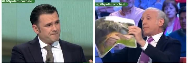 Iñaki López y Eduardo Inda.