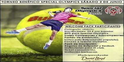 Torneo de Padel Special Olympics.