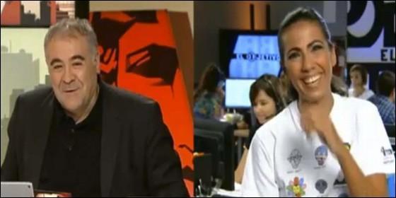 Antonio García Ferreras y Ana Pastor (LASEXTA).