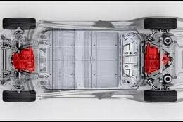 Tesla con dos motores