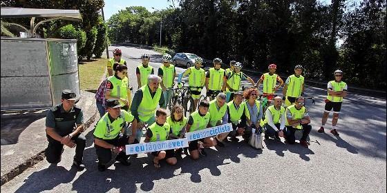 Consellería de Infraestruturas e Vivenda con la Federación Galega de Ciclismo