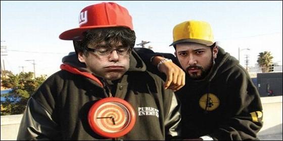 Meme: El prófugo Puigdemont con el fugado Valtonyc.